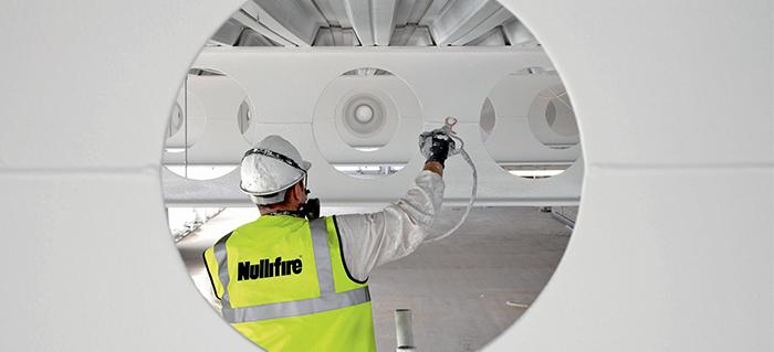 [Translate to Türkçe (tr):] La peinture intumescente pour la protection des structures en acier