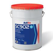 Peinture intumescente SC902 pour application sur chantier