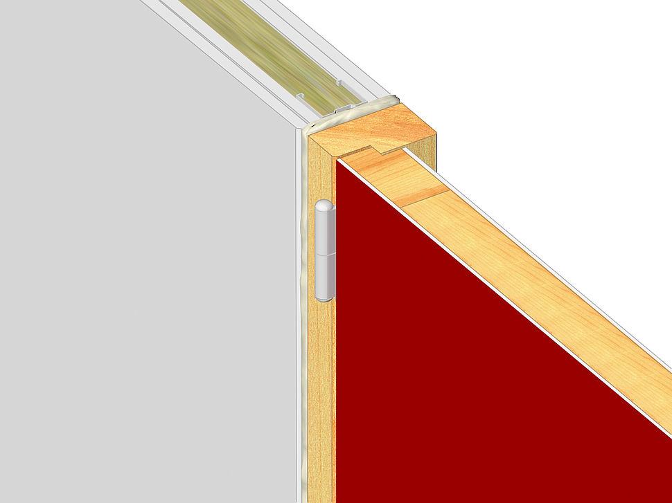 FF197 Brandwerend Schuim - metalstud  of massieve wand met houten kozijn