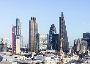 Londra Skyline için yüksek pasif yangın koruması