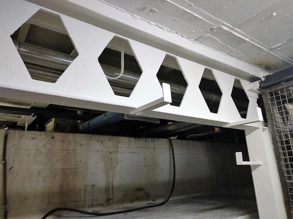 Protection de l'acier de l'usine Renolit par Nullifire