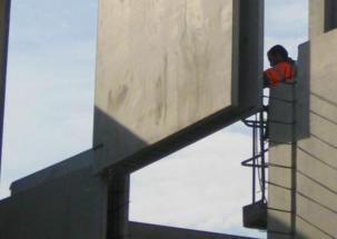 Protección pasiva contra incendios de la sala de calderas de biomasa de Sevran