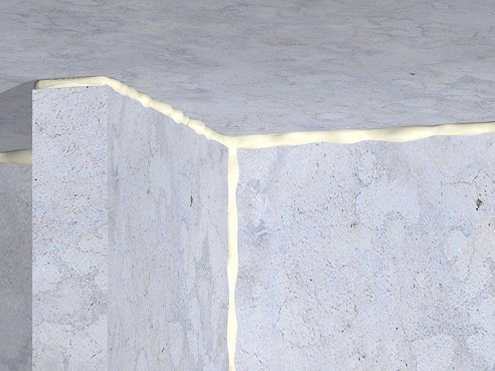 FF197 Brandwerend Schuim massieve vlier - muuraansluiting