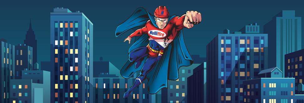 Super-héros Nullifire Protection Feu Passive