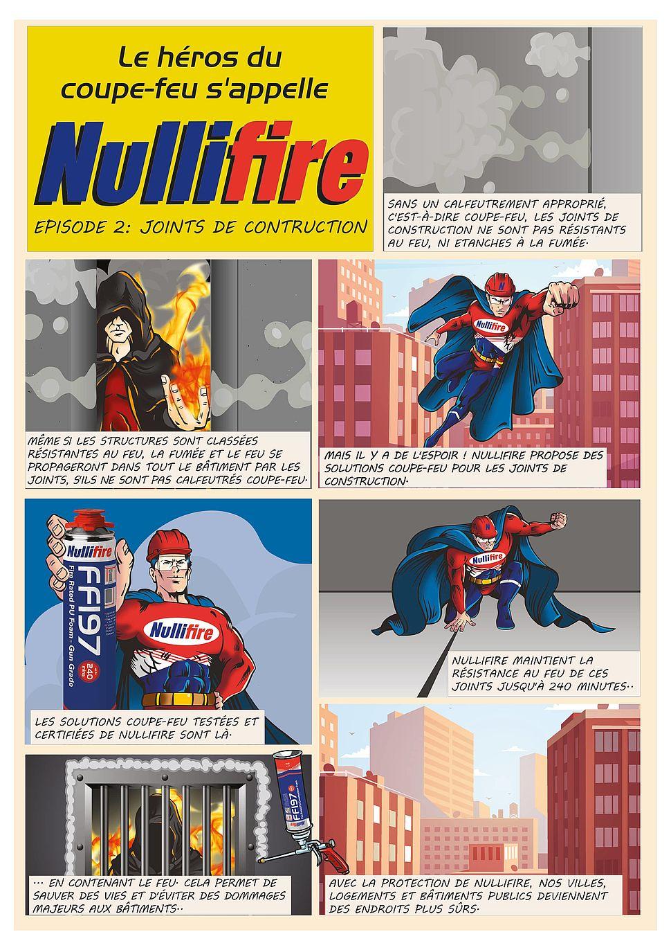 Super-héros Nullfire: stopper la propagation des flammes EP2