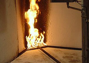 Klassifizierung des Brandverhaltens